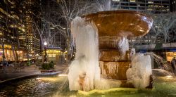 Frozen Fountain New York