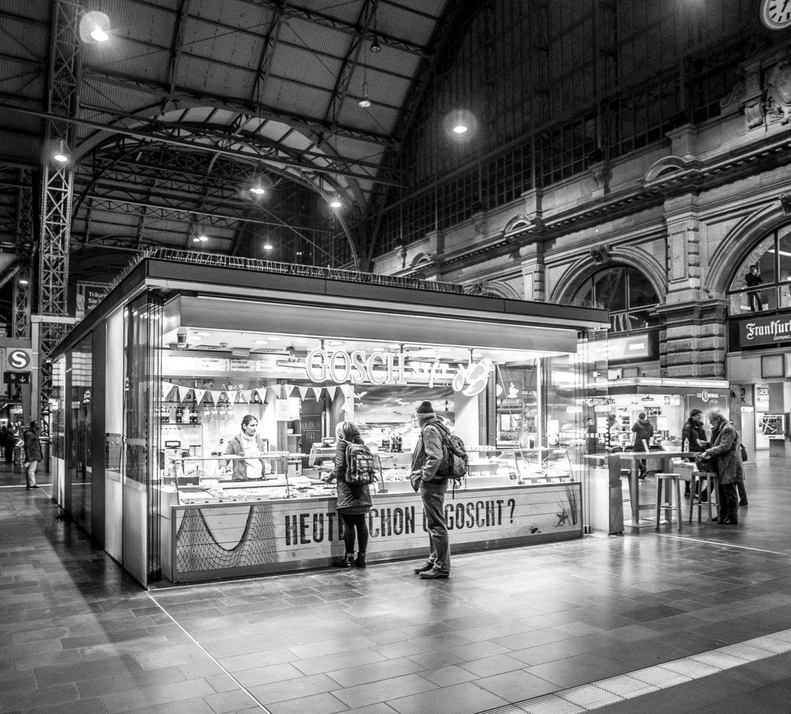 Frankfurt stopover - train station