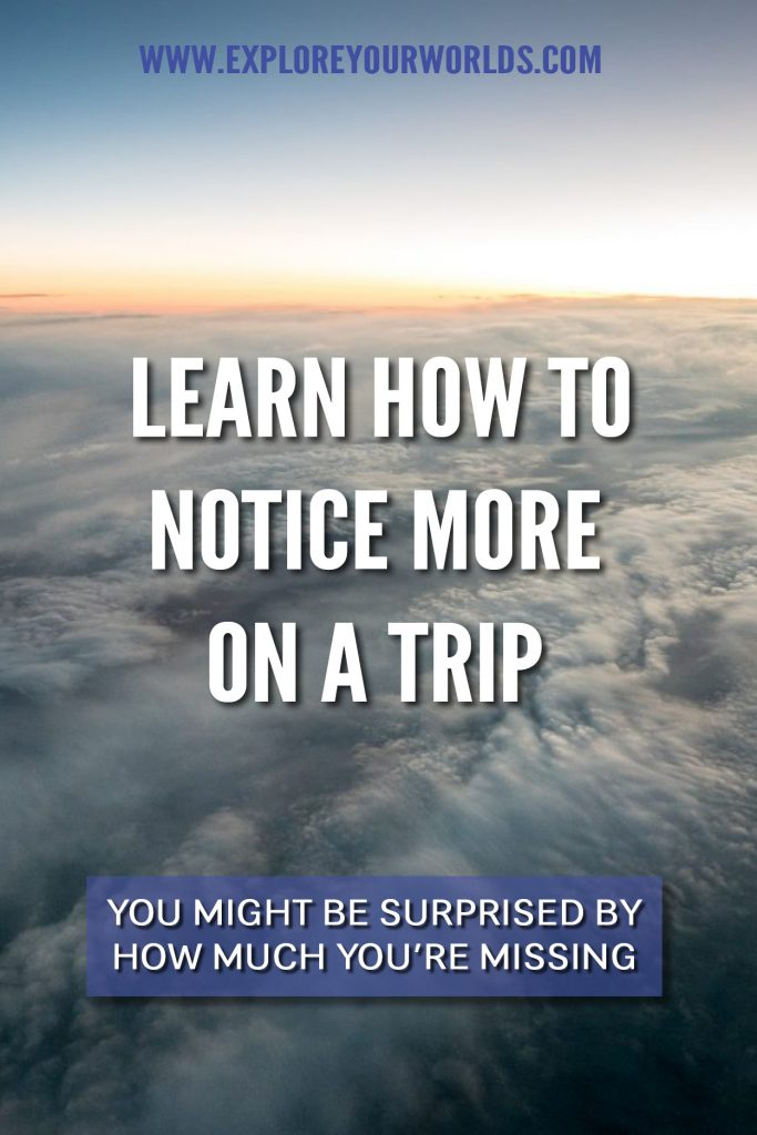 Learn How to Notice More