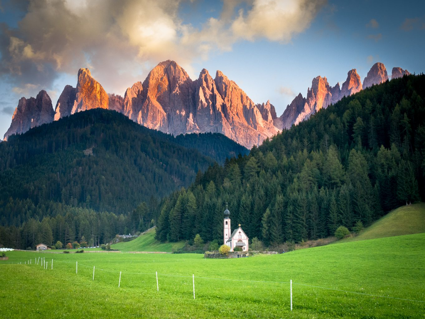 Cropping: Santa Maddelena, Val di Funes - uncropped