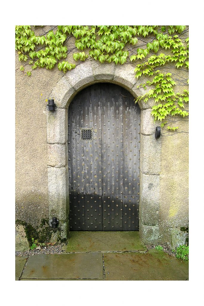 Scottish Doorway with great visual appeal