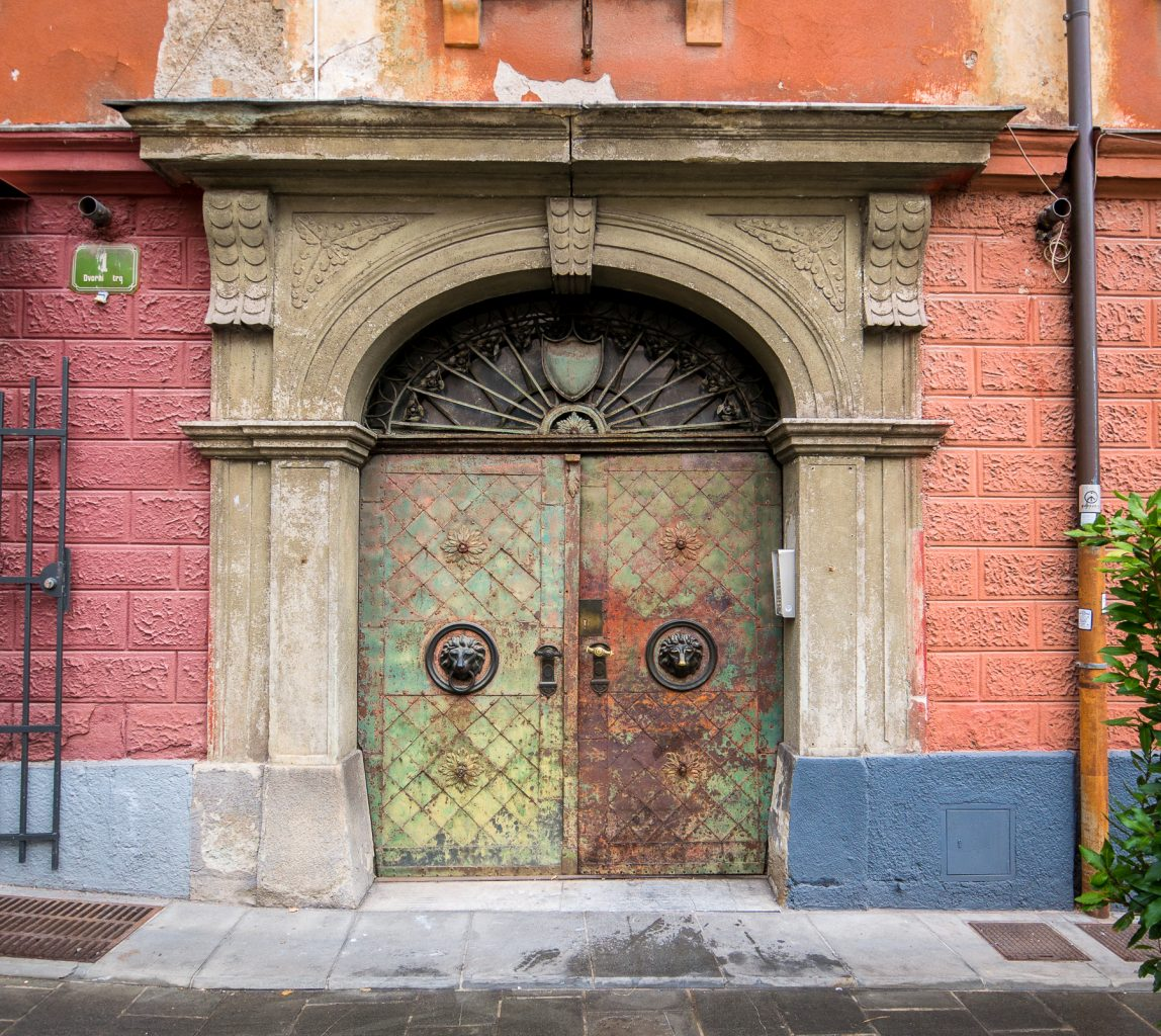 Doors near university