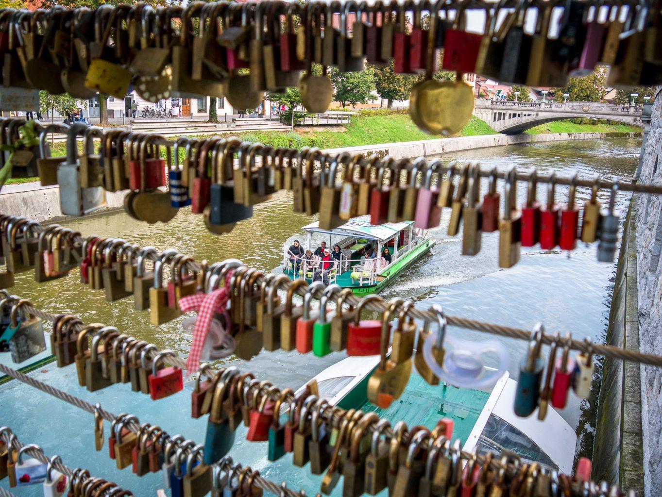 Locks on Butcher's Bridge