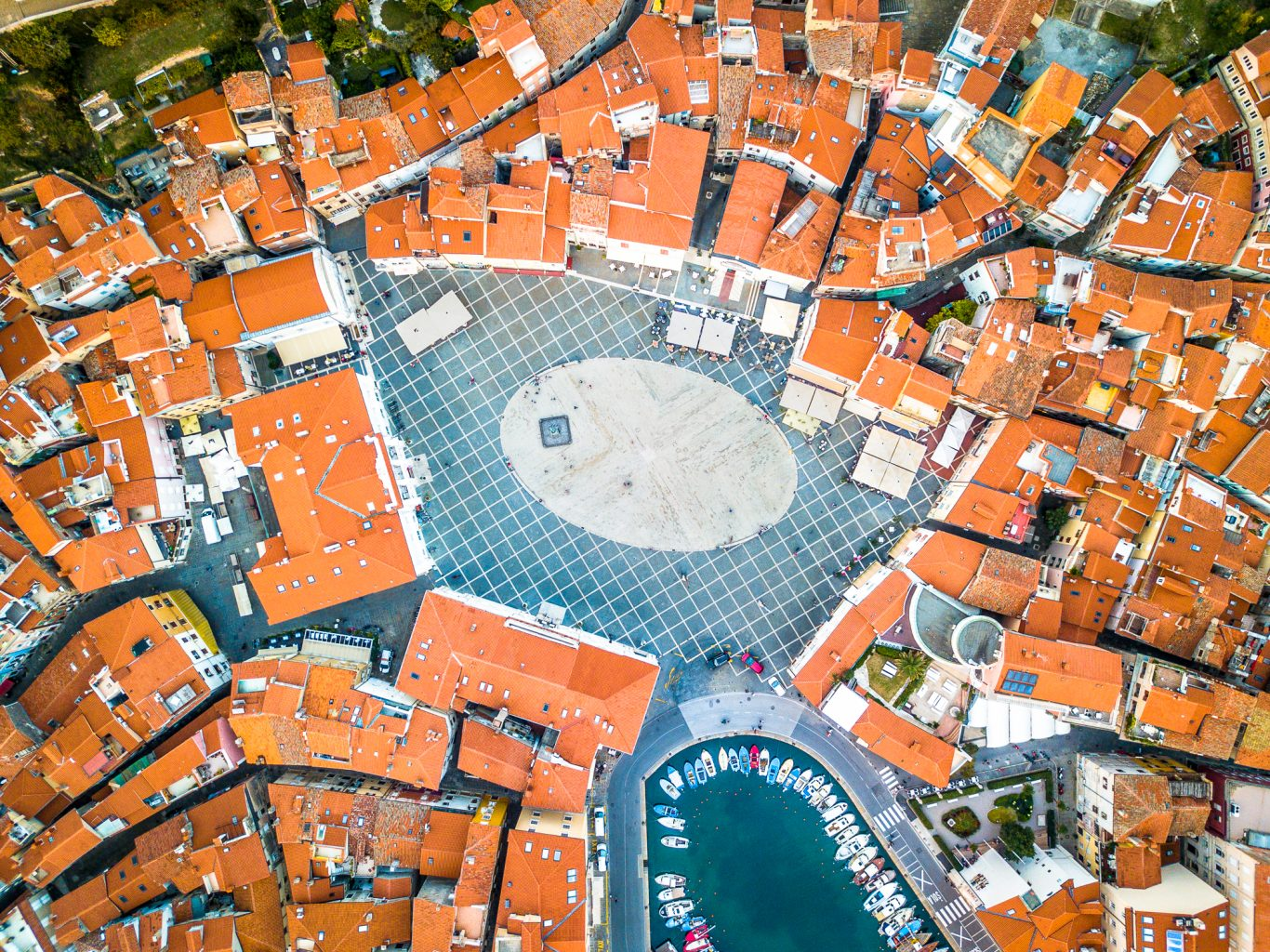Tartini Square from above