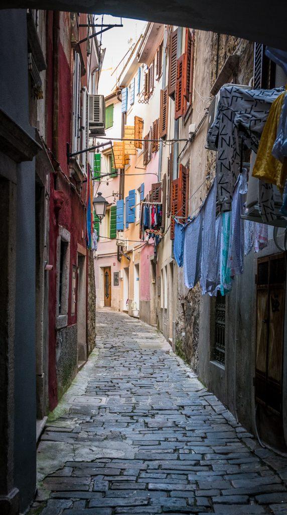 Piran alleyway