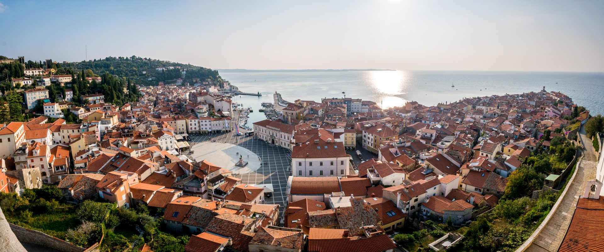 Piran from St. George belltower