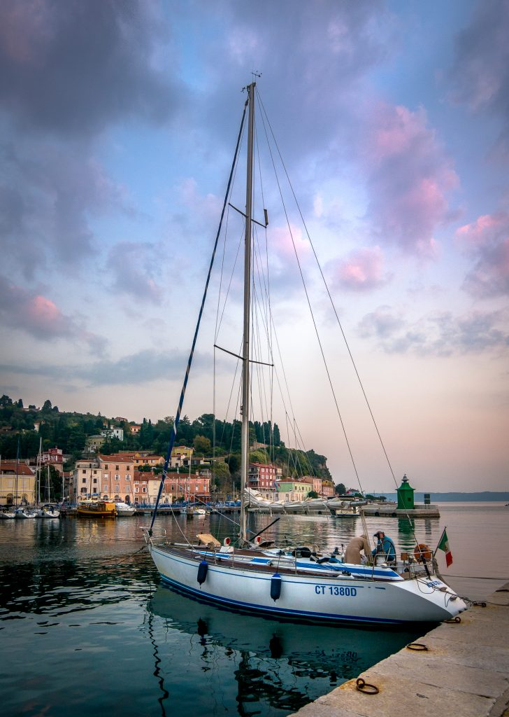 Piran sailboat