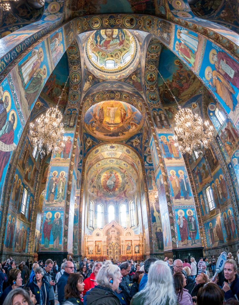 Church of the Savior on Spilled Blood - panorama