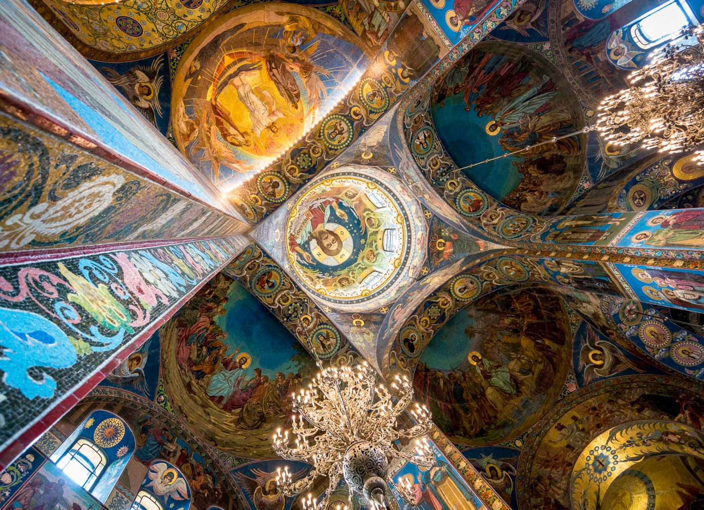 Church of the Savior on Spilled Blood columns