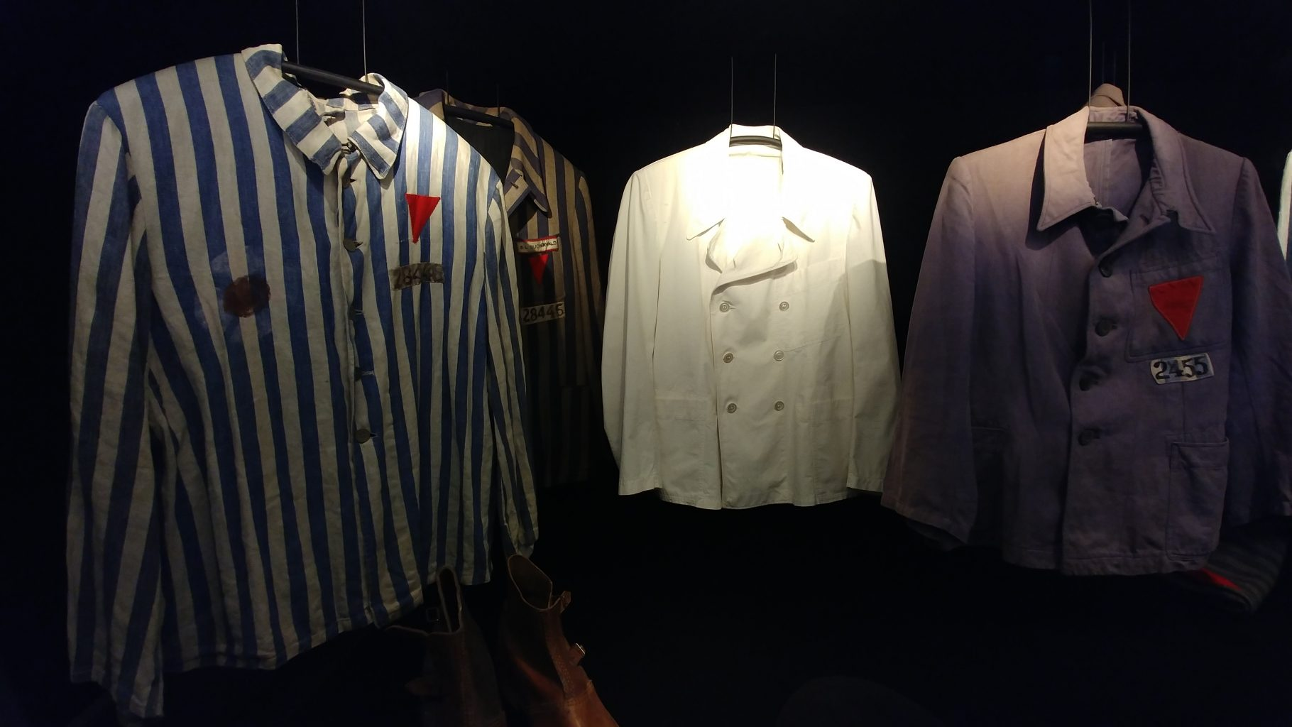 Buchenwald prisoners' clothing