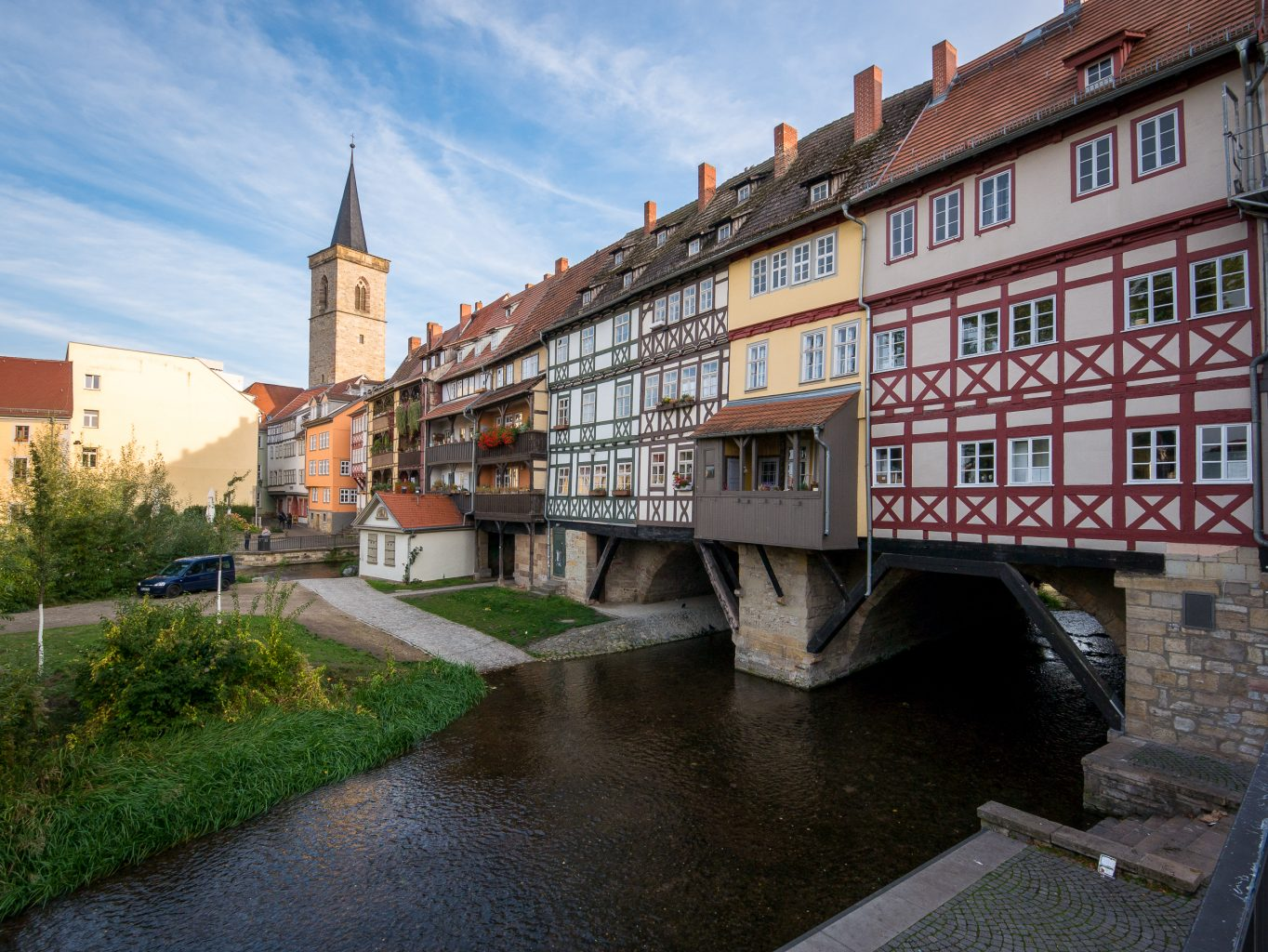Erfurt's Kramerbrucke (Merchant's Bridge)