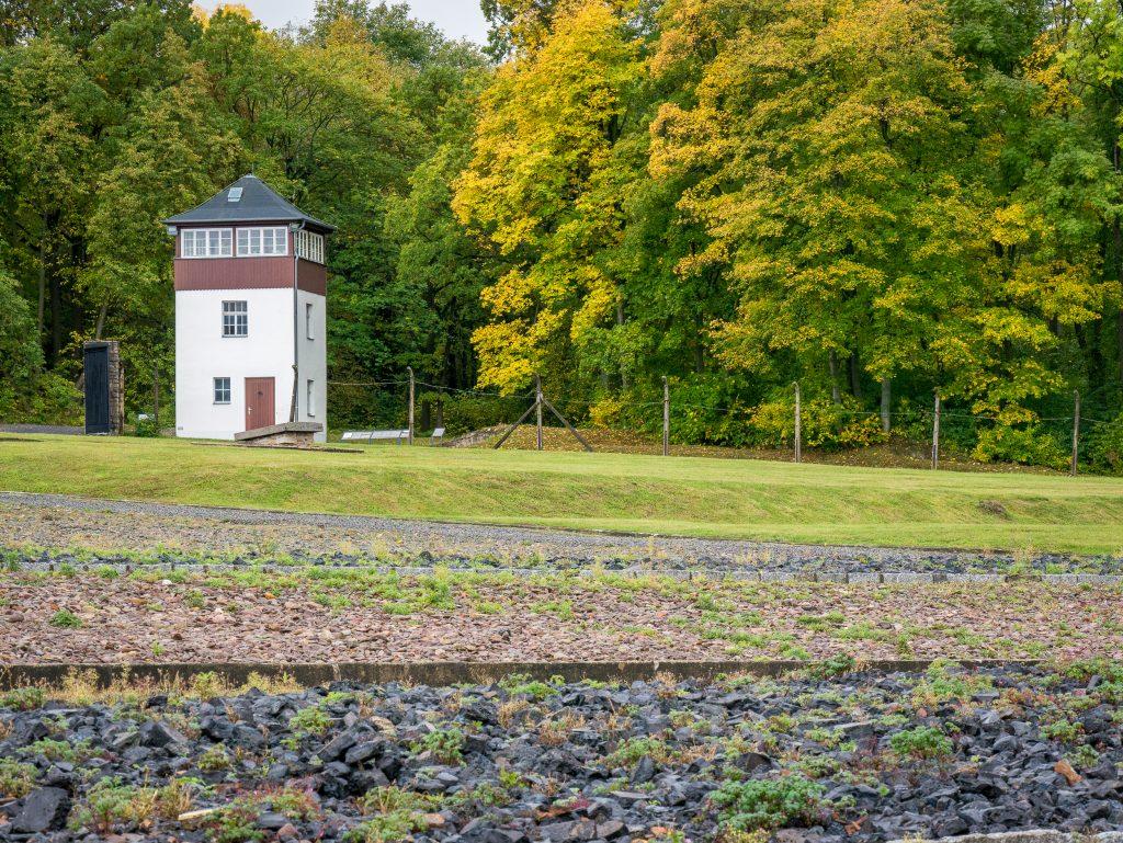 Buchenwald watch tower