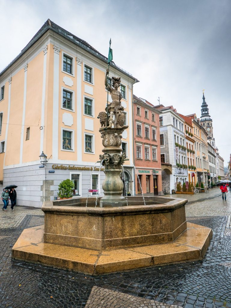 Goerlitz fountain