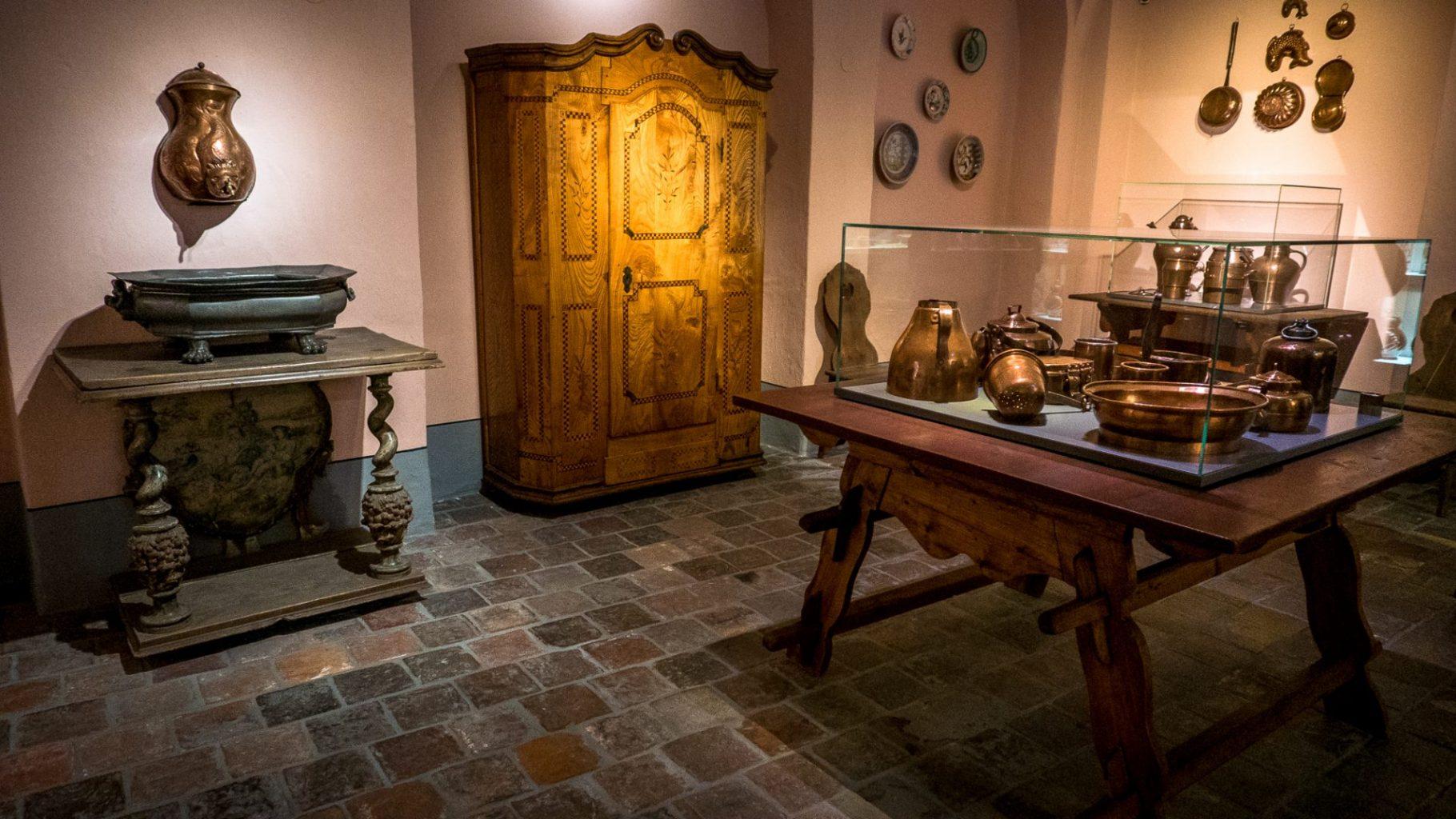 Baroque House kitchen