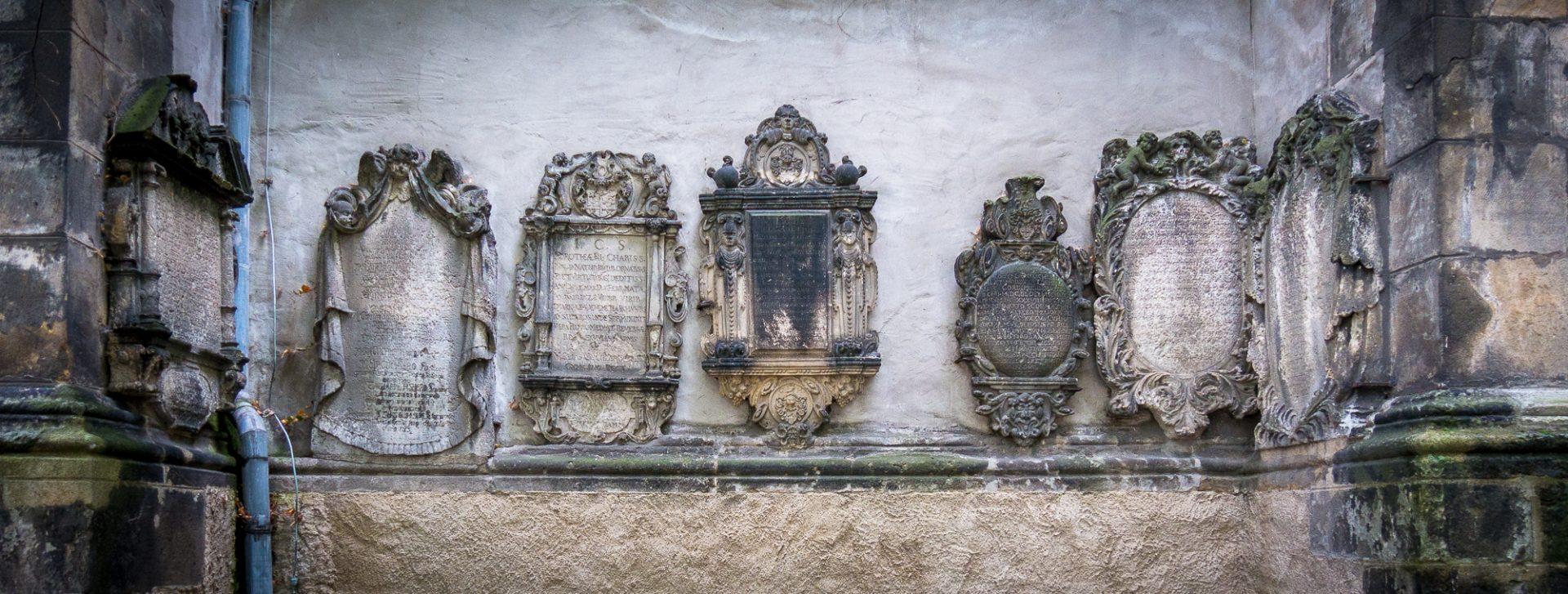 St. Nicholas tombstones