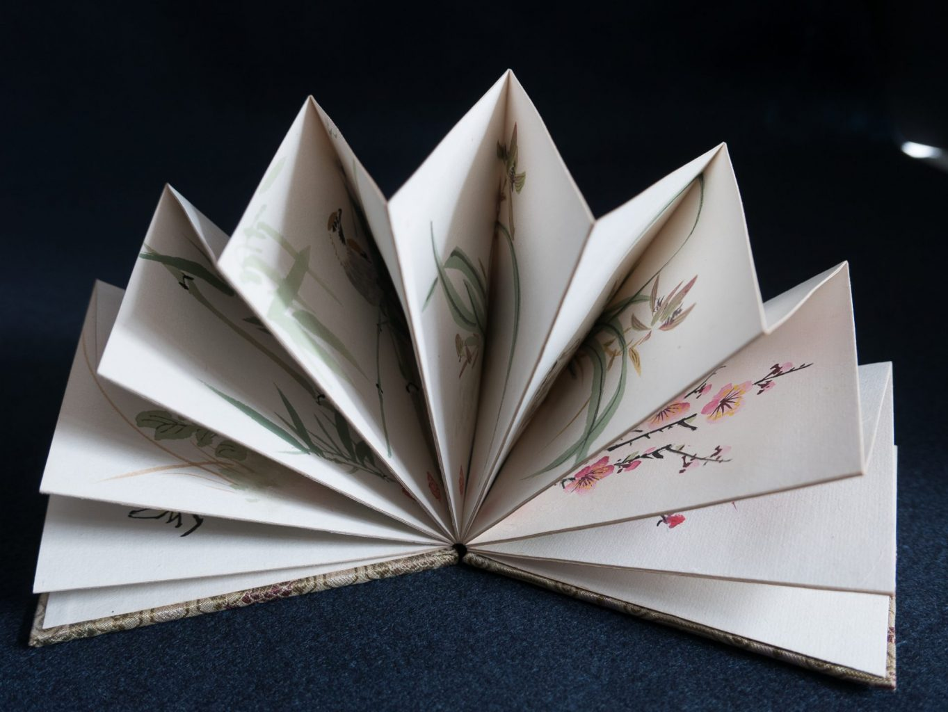Accordion book from Asia