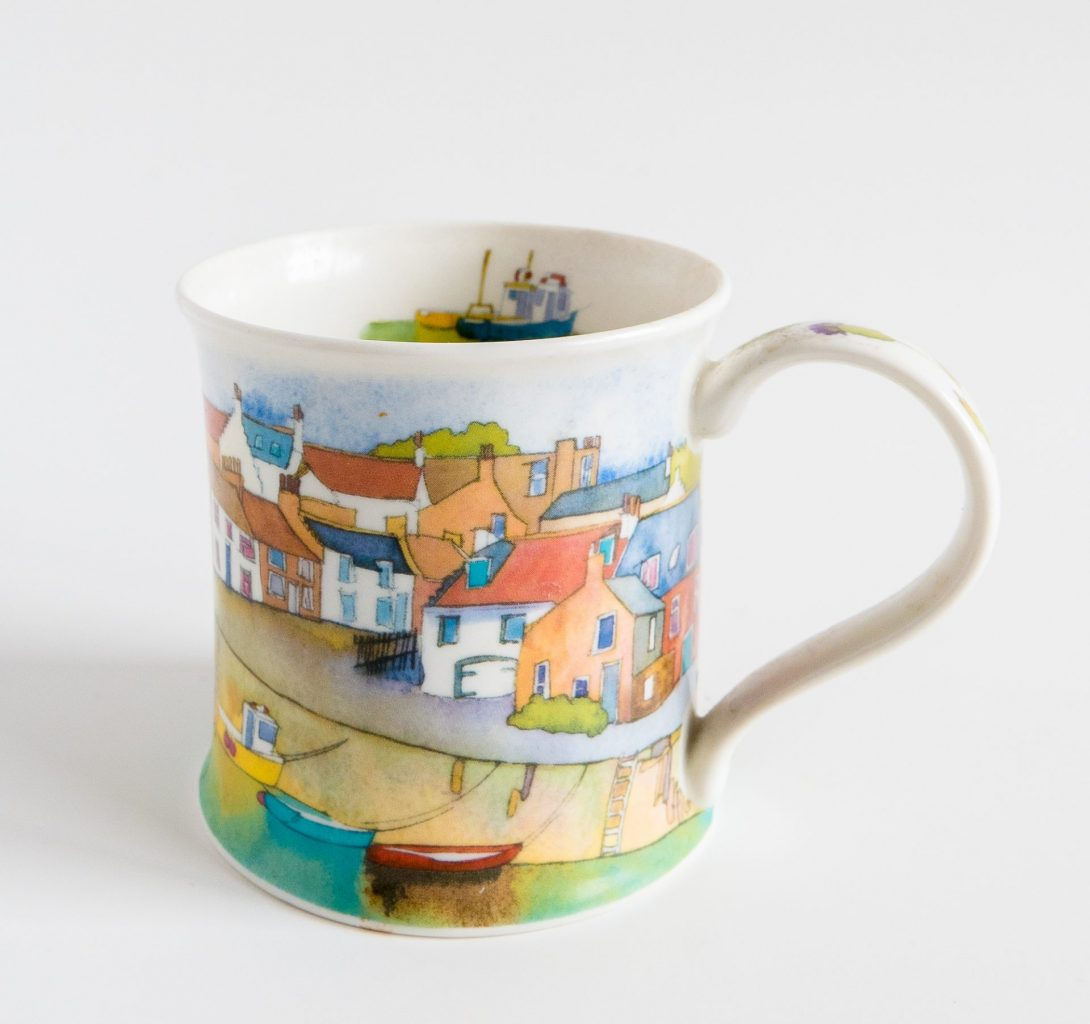 Coffee cup from Scotland