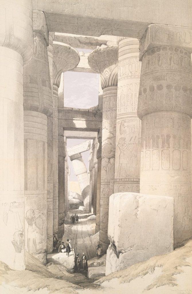 Sketch of Ruins