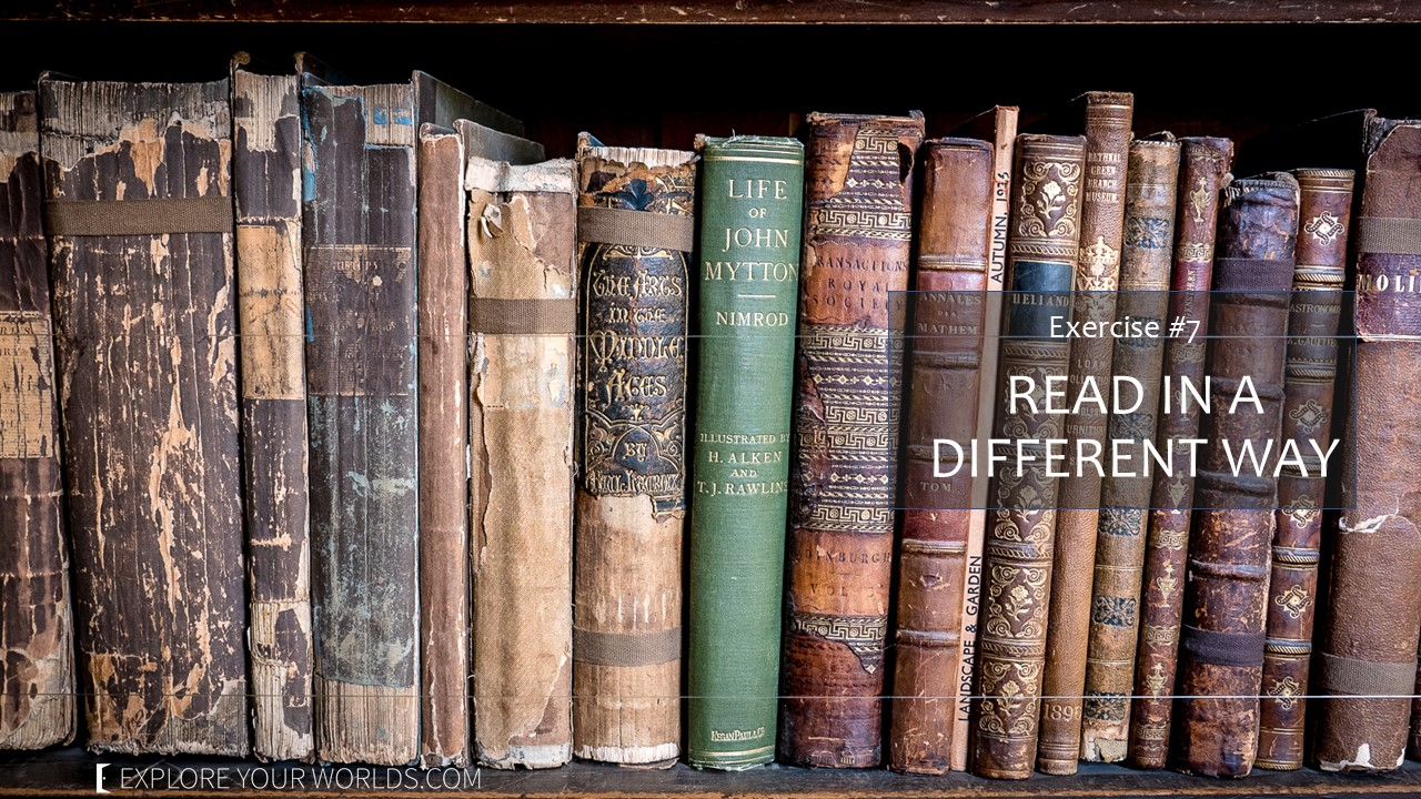 How to practice travel by reading differently - books
