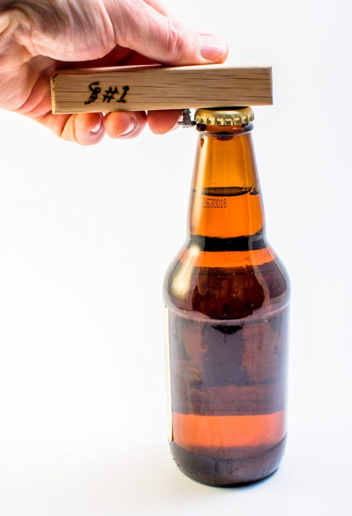 Screw-in-wood bottle opener