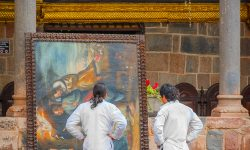 Cusco Painting - creativity and travel
